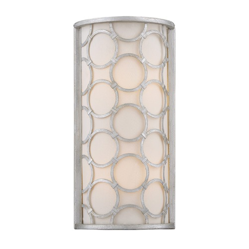 Savoy House Savoy House Lighting Triona Silver Leaf Sconce 9-1164-2-34