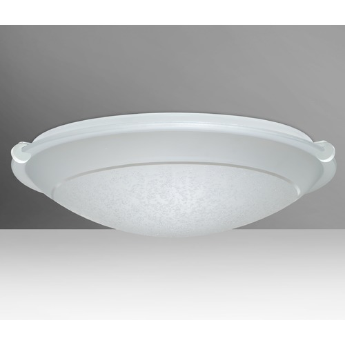 Besa Lighting Besa Lighting Trio White LED Flushmount Light 9681SFR-LED-WH