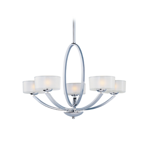Maxim Lighting Maxim Lighting Elle Chrome Chandelier 19045FTPC