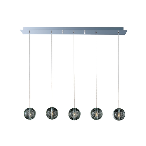 ET2 Lighting Modern Low Voltage Multi-Light Pendant Light 5-Lights E24257-91PC
