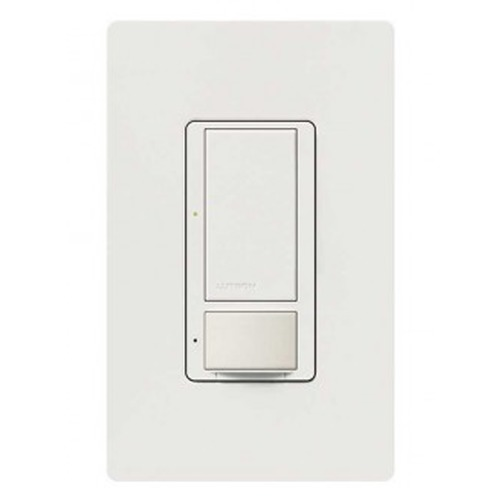 Lutron Dimmer Controls 600-Watt Switch with Vacancy Sensor MS-VPS5AM-WH-H