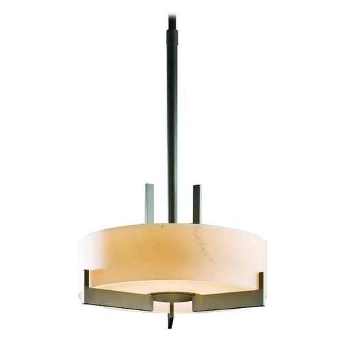 Hubbardton Forge Lighting Adjustable Pendant Light with Three Lights 136403-07-H216