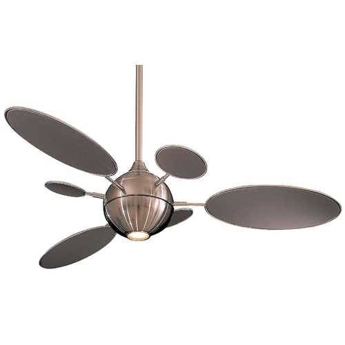 Minka Aire Ceiling Fan with Six Blades and Light Kit F596-BN