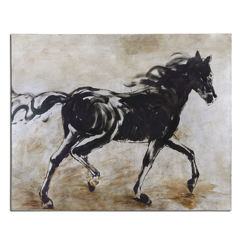 Uttermost Lighting Uttermost Blacks Beauty Horse Art 34262