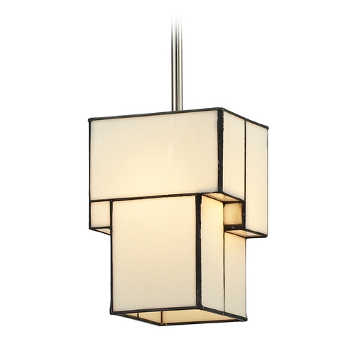 Elk Lighting Modern LED Mini-Pendant Light with Beige / Cream Glass 72062-1-LED