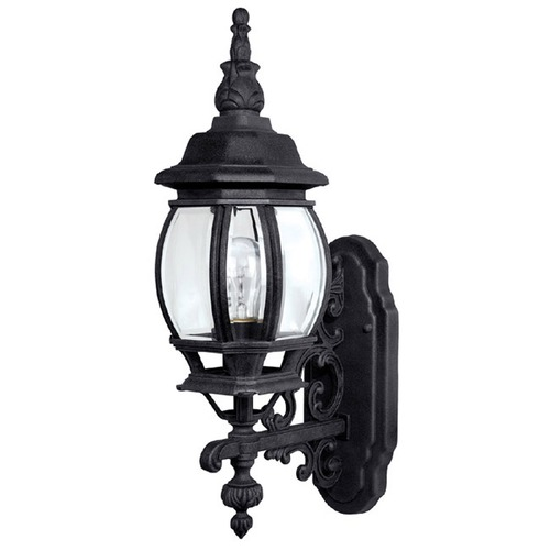 Capital Lighting Capital Lighting French Country Black Outdoor Wall Light 9867BK