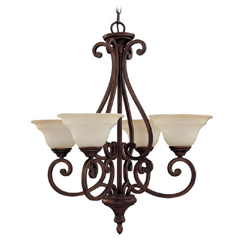 Capital Lighting Capital Lighting Chandler Burnished Bronze Chandelier 3074BB-292