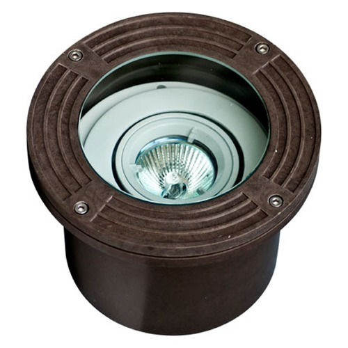 Dabmar Lighting Bronze Fiberglass In-Ground Well Light FG316-MR