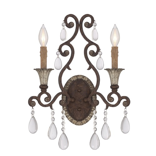 Savoy House Savoy House Lighting Florence New Tortoise Shell Sconce 9-1411-2-56