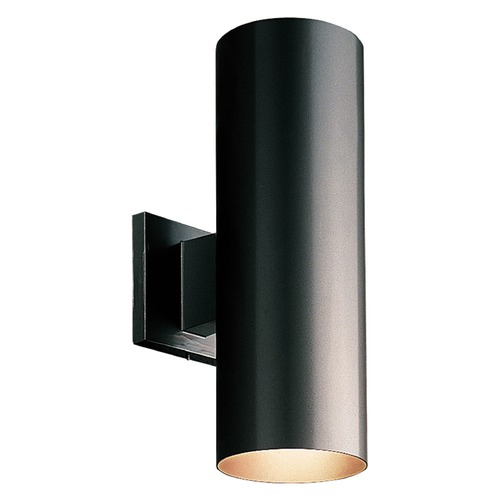 Progress Lighting Progress Lighting Cylinder Black LED Outdoor Wall Light P5675-31/30K