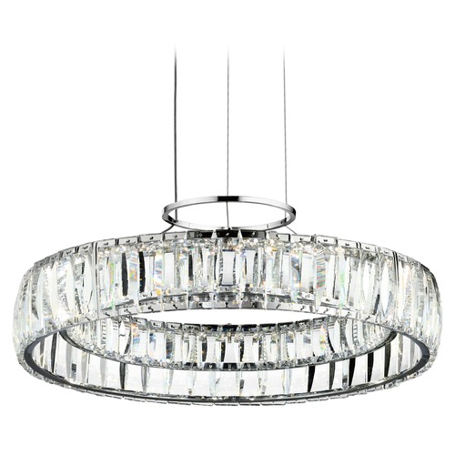 Elan Lighting Elan Lighting Annette Chrome LED Pendant Light 83624