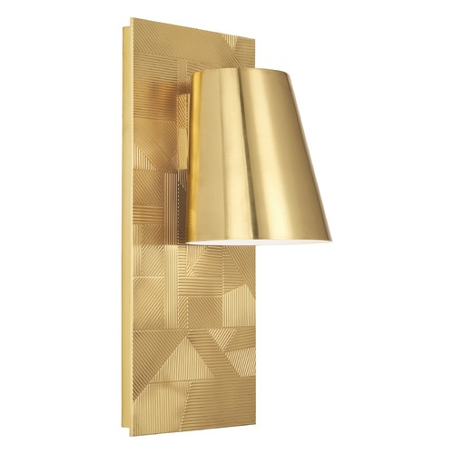Robert Abbey Lighting Robert Abbey Lighting Michael Berman Michael Berman Brut Modern Brass Outdoor Wall Light 622