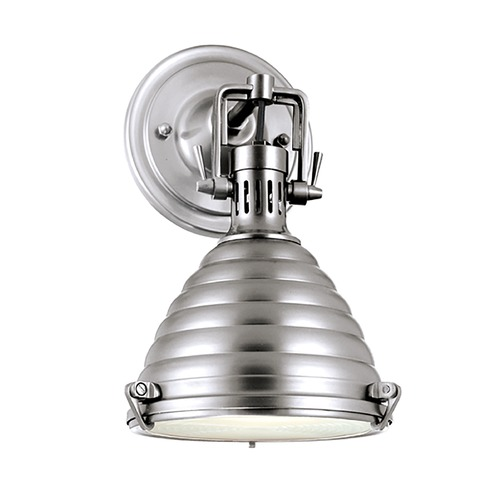 Hudson Valley Lighting Modern Sconce Wall Light in Polished Nickel Finish 5108-PN