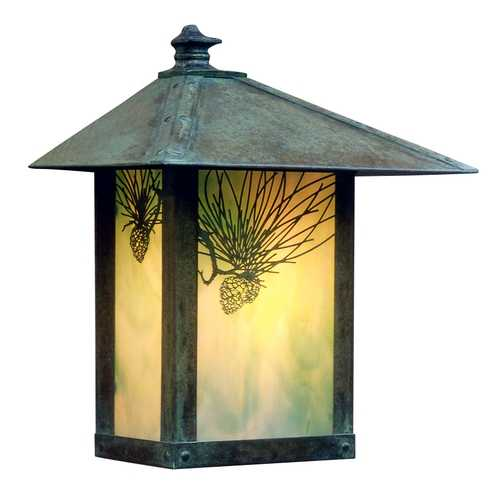 Arroyo Craftsman Lighting 13-Inch Outdoor Wall Light EW-12PF-VP-GW (QS)