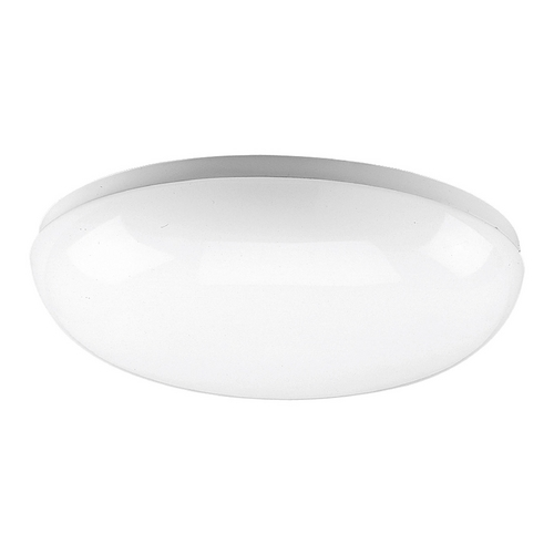 Progress Lighting Progress Flushmount Light with White in White Finish P7383-30