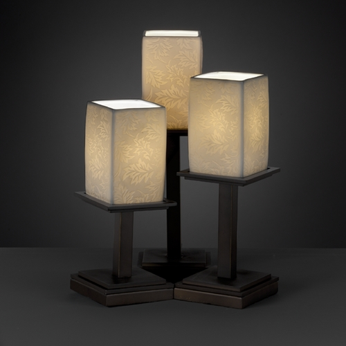 Justice Design Group Justice Design Group Limoges Collection Table Lamp POR-8697-15-LEAF-DBRZ