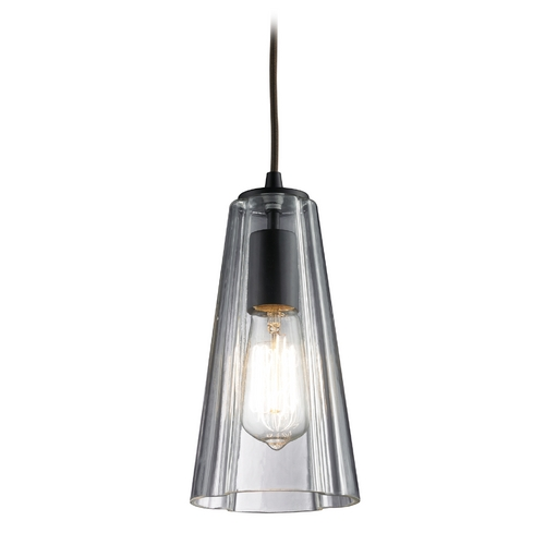 Elk Lighting Mini-Pendant Light with Clear Glass 60048-1