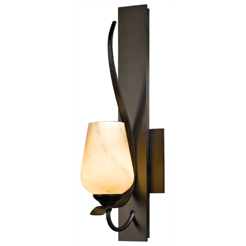 Hubbardton Forge Lighting Hubbardton Forge Lighting Flora Dark Smoke Sconce 203035-07-H303