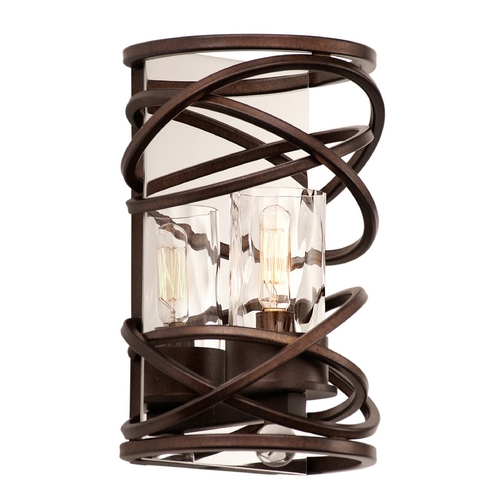 Kalco Lighting Kalco Lighting Eternity Etruscan Bronze Sconce 6601EZ