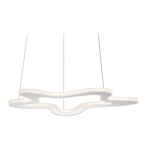 Elan Lighting Elan Lighting Kazza Chrome LED Pendant Light 83609