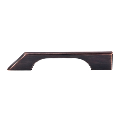 Top Knobs Hardware Modern Cabinet Pull in Tuscan Bronze Finish TK14TB