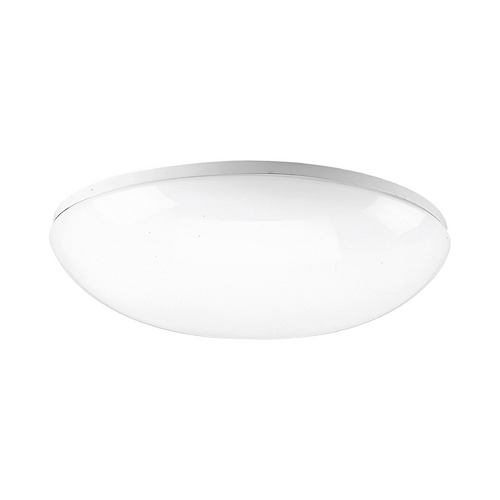 Progress Lighting Progress Flushmount Light with White in White Finish P7384-30