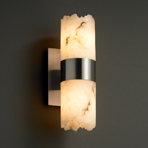 Justice Design Group Justice Design Group Lumenaria Collection Sconce FAL-8762-12-NCKL