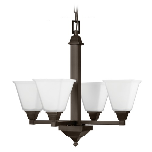 Sea Gull Lighting Sea Gull Lighting Denhelm Burnt Sienna Chandelier 3150404-710