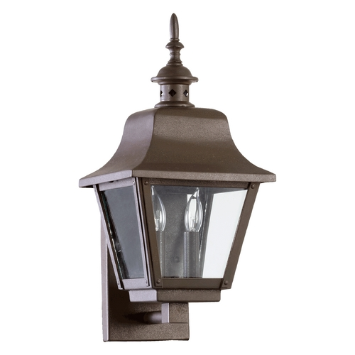 Quorum Lighting Quorum Lighting Bishop Oiled Bronze Outdoor Wall Light 7030-2-86