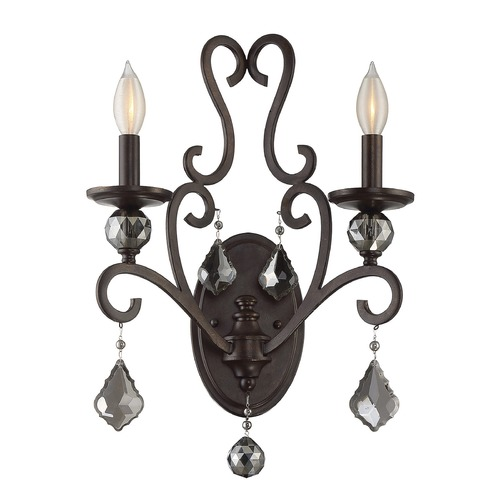 Savoy House Savoy House Lighting Stratton Statuary Bronze Sconce 9-2082-2-48