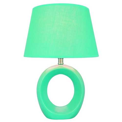 Lite Source Lighting Lite Source Lighting Viko Blue Table Lamp with Empire Shade LS-20585BLU