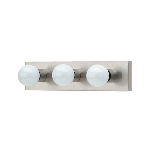 Sea Gull Lighting Modern Bathroom Light in Brushed Stainless Finish 4737-98