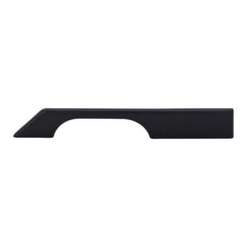 Top Knobs Hardware Modern Cabinet Pull in Flat Black Finish TK15BLK