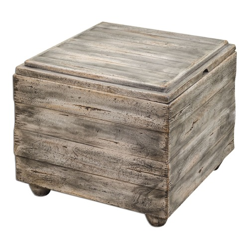 Uttermost Lighting Uttermost Avner Wooden Cube Table 25603