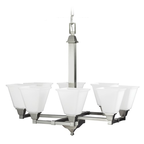 Sea Gull Lighting Sea Gull Lighting Denhelm Brushed Nickel Chandelier 3150408-962