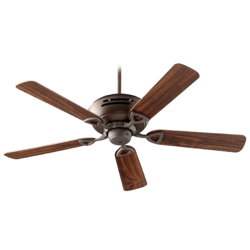 Quorum Lighting Quorum Lighting Hoffman Oiled Bronze Ceiling Fan Without Light 83525-86