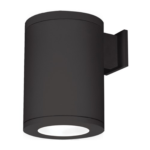 WAC Lighting 8-Inch Black LED Tube Architectural Wall Light 3000K 3510LM DS-WS08-F930B-BK