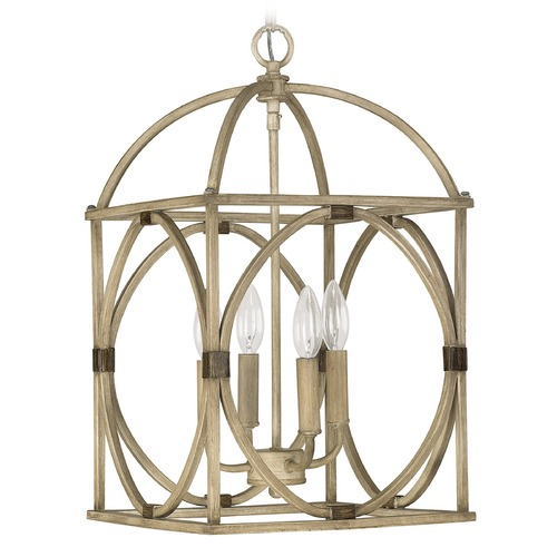 Capital Lighting Capital Lighting Foyer French Oak Pendant Light 4521FO