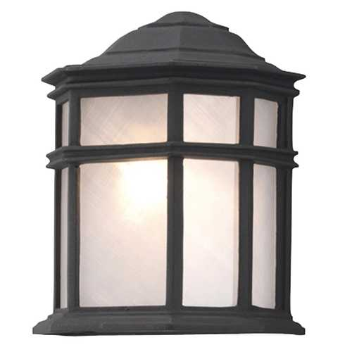 Galaxy Excel Lighting Outdoor Wall Light 303218BLK