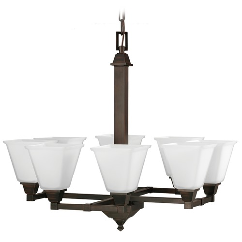 Sea Gull Lighting Sea Gull Lighting Denhelm Burnt Sienna Chandelier 3150408-710