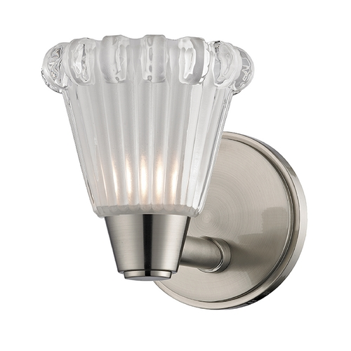 Hudson Valley Lighting Hudson Valley Lighting Varick Satin Nickel Sconce 3441-SN