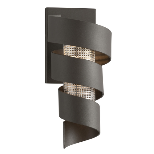 Troy Lighting Troy Lighting Vortex Bronze with Painted LED Sconce B4261