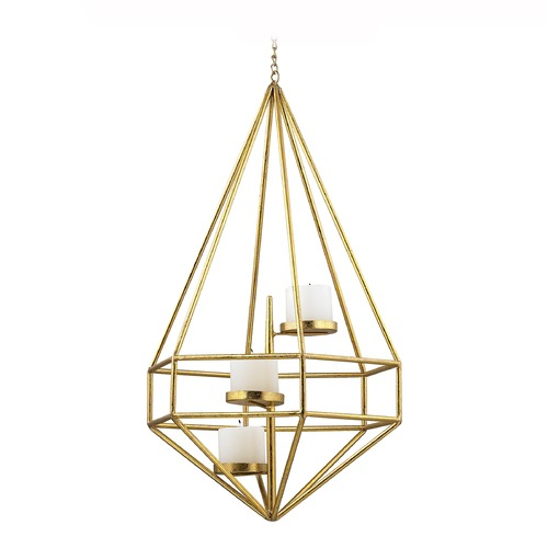 Sterling Lighting Angular Study Hexagon Pillar Light Pendant 51-020
