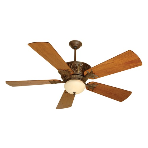 Craftmade Lighting Craftmade Lighting Pavilion Aged Bronze Textured Ceiling Fan with Light K10272