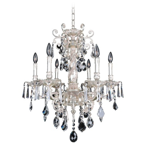 Allegri Lighting Marcello 6 Light Crystal Chandelier 024550-005-FR001