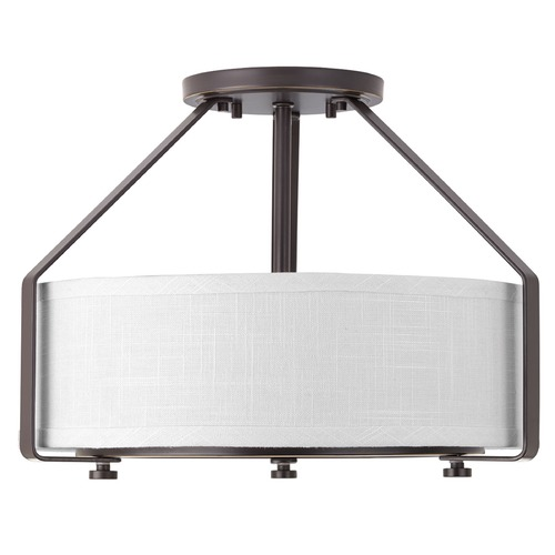Progress Lighting Progress Lighting Ratio Antique Bronze Semi-Flushmount Light P3604-20