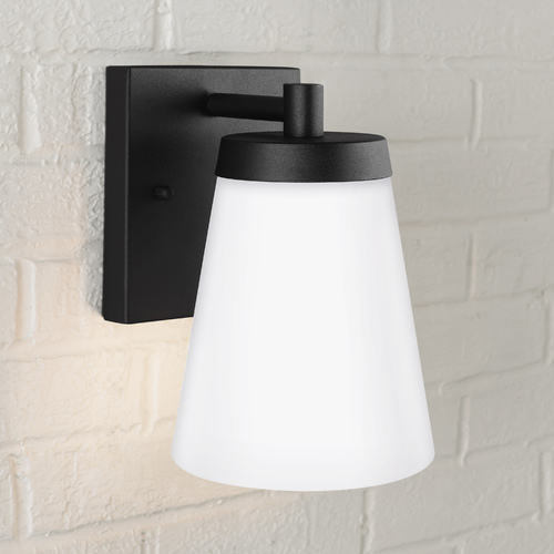Sea Gull Lighting Sea Gull Lighting Renville Black Outdoor Wall Light 8538601-12
