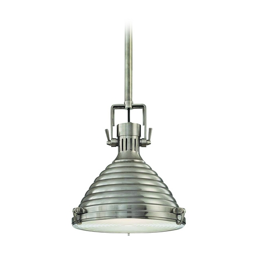 Hudson Valley Lighting Modern Pendant Light in Antique Nickel Finish 5111-AN