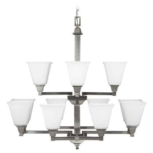 Sea Gull Lighting Sea Gull Lighting Denhelm Brushed Nickel Chandelier 3150412-962