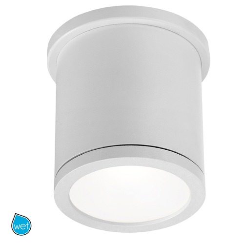 WAC Lighting WAC Lighting Tube White LED Close To Ceiling Light FM-W2605-WT